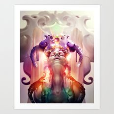 The Wicked Queen Art Print