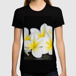 Plumeria obtusa Singapore White T-shirt