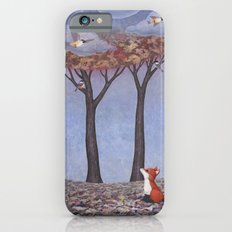 fox and chickadees Slim Case iPhone 6s