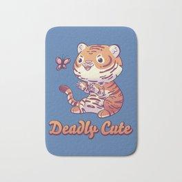 Deadly Cute Tiger Bath Mat