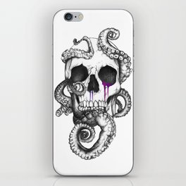 Skull and Tentacles iPhone Skin