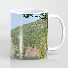 Roger's Rock on Lake George, NY Coffee Mug