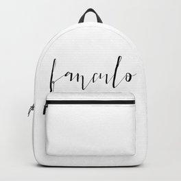 FANCULO Backpack