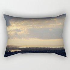 Sunrise Over South Long Beach Rectangular Pillow