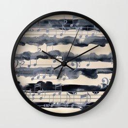 music of the sea Wall Clock