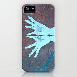 Lotus Mudra iPhone Case
