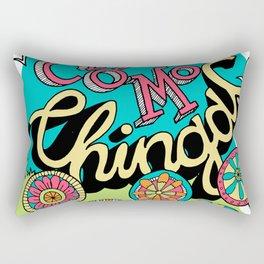Como Chingas Rectangular Pillow