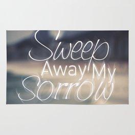 Sweep Away My Sorrow Rug