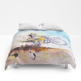 Expressive Ink Wheelie Comforters