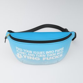 Fold Your Issues Into Paper Planes Fanny Pack