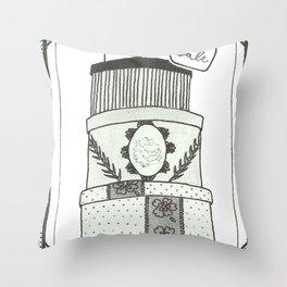 Hatboxes Throw Pillow