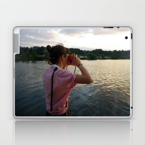 Sea Lady, See!—photo of wonderment Laptop & iPad Skin