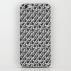 Floral Black and White iPhone Skin