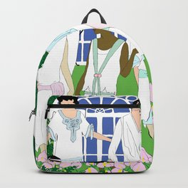 Gatsby Girl Garden Party Backpack