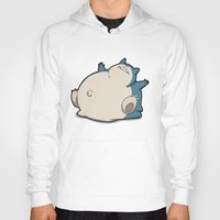 snorlax Hoodies featuring Pokémon - Number 143 by Aniforce
