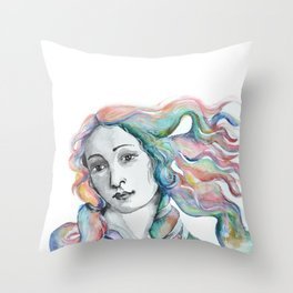 Venus Portrait Throw Pillow