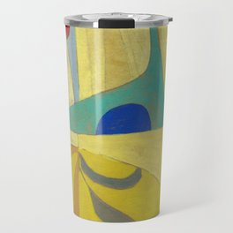Exotic Yellow Travel Mug