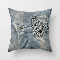 Barely Blue Throw Pillow