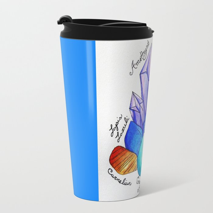 Chakra Stones Travel Mug