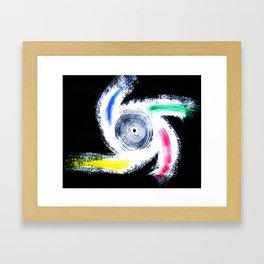 """My Idea of a Color-Wheel"" Framed Art Print"