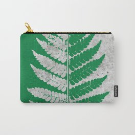 Natural Outlines - Fern Green & Concrete #259 Carry-All Pouch
