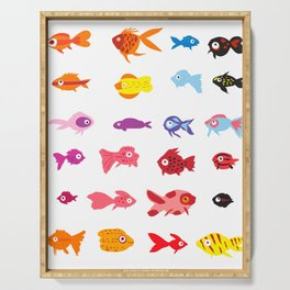 Fish collection Serving Tray