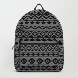 Aztec Essence Ptn III Black on Grey Backpack
