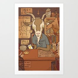 Phil's Curiosity Shop Art Print
