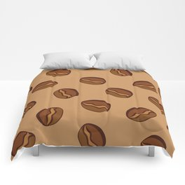 Pattern - Coffee Beans Comforters