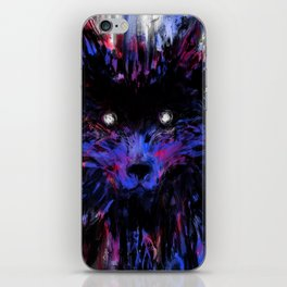 no wolfie iPhone Skin