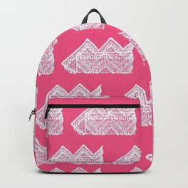 Hmong hat pink Backpack