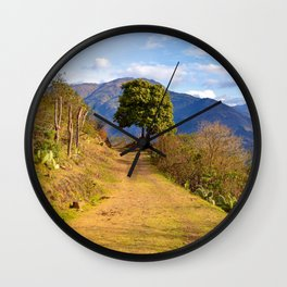 The exceptional Tree of instincts by #Bizzartino Wall Clock