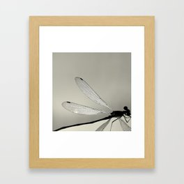 MINUTIAE / 01 Framed Art Print