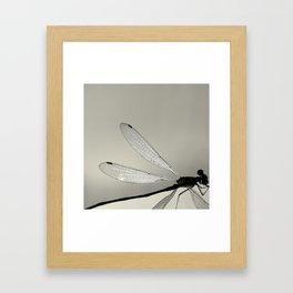 MINUTIAE / 01 Framed Art Print