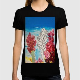 Alpinia purpurata – Red Ginger Flower T-shirt