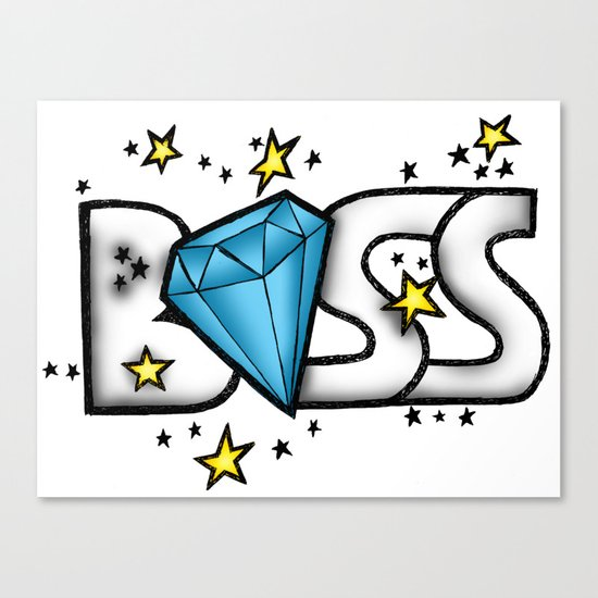Boss Canvas Print