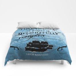Delightfully complex quote - Nikolai Lantsov - Leigh Bardugo Comforters