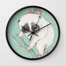 Fat Loris! Wall Clock