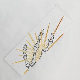 Skeleton Hand Inktober :: Dreadful Fairy Tales Yoga Mat