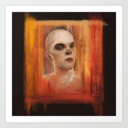 Nux digital portrait Art Print