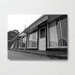 Empty salon Metal Print