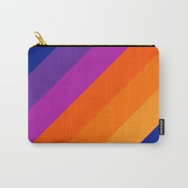 Simple Stripes - Sapphire Carry-All Pouch
