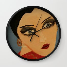 Hanna Ruby Wall Clock