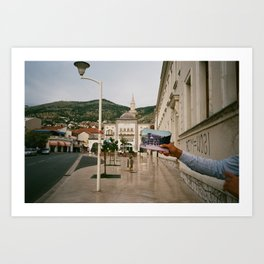 Tour of Mostar Art Print