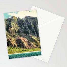 Na' Pali Coast, Kauai, Hawaii Stationery Cards