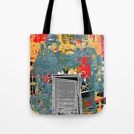 Psychedelic Delhi Tote Bag