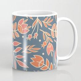 Loquacious Floral Coffee Mug