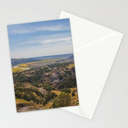 Badlands, Theodore Roosevelt NP, ND 3 Stationery Cards