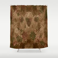 camouflage Shower Curtains featuring Camouflage... by Cherie DeBevoise