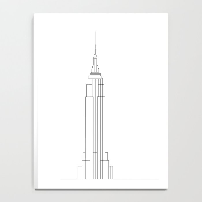 Empire State Building New York Notebook